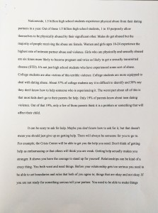 Page 2 of Alex's winning essay.
